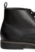 Chukka boots - Black - Men | H&M CN 4